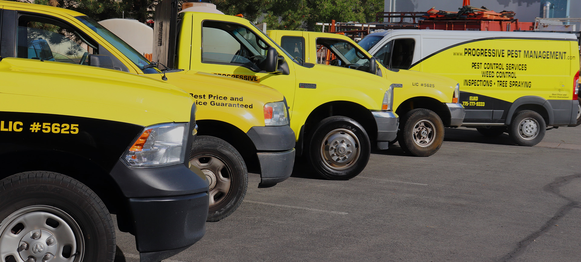 Progressive Pest Management - Fleet